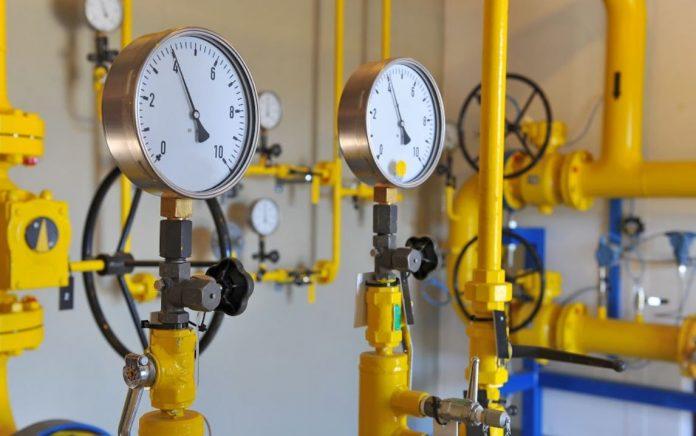 Medidor Distribuição de Gás