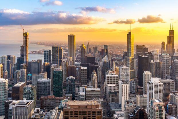 Arranha céus da Cidade de Chicago