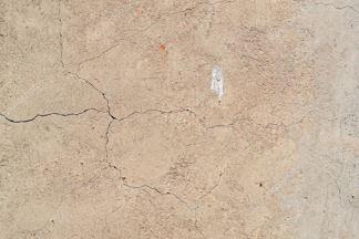 Imagem de fissura em parede.