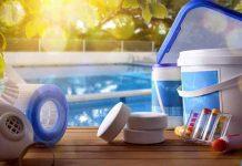 Segurança no armazenamento de produtos químicos para piscina