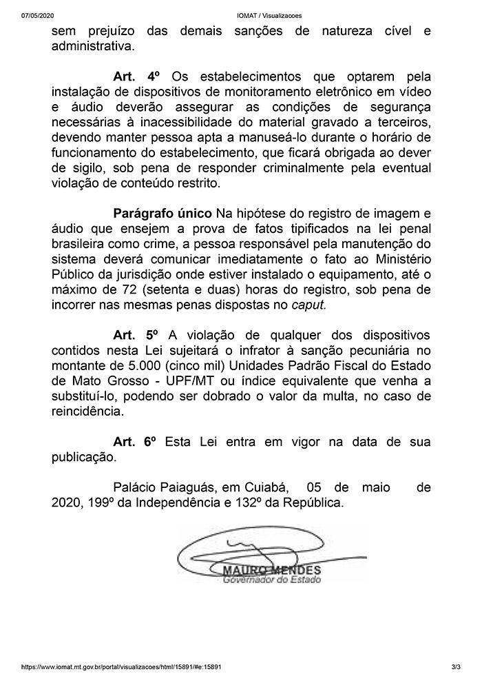 Lei n° 11120 de Mato Grosso