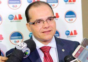 Presidente OAB-MT Leonardo Campos
