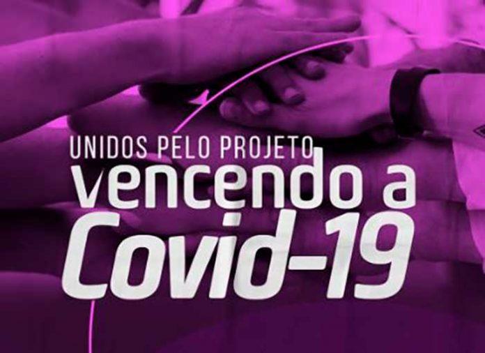 Juntos pelo projeto Vencendo a Covid19