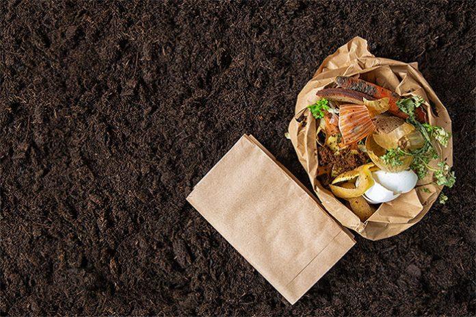 Compostagem gerada a partir de resíduos orgânicos em condomínio
