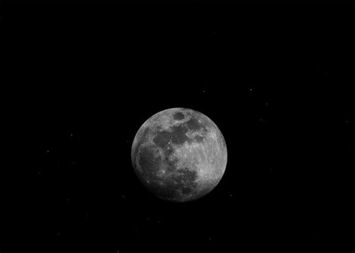 Módulo coletou amostras da superfície lunar