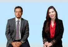 Advogados Arádine Grossi e Marcelo Ambrósio