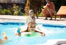 Notificação de infrações cometidas na piscina